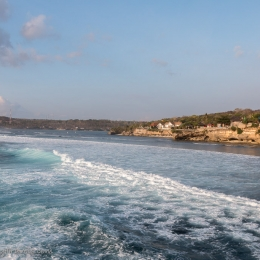 Indonesia - Nusa Lembongan - secret sunset point view