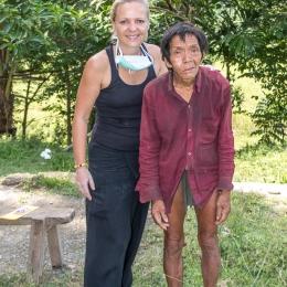 My new friend - tribe of Mangyans
