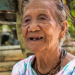 Old Siargao Woman