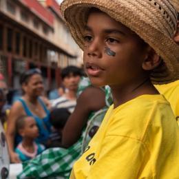 Boy at the parade