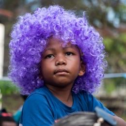 purple the new fashion ?