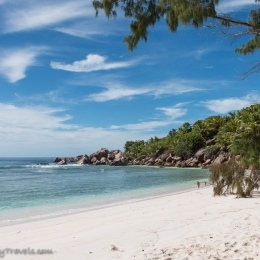 Anse Cocos beach - most beautiful beach in the world