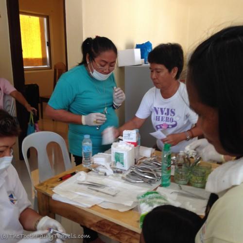 local health center at General Luna - Siargao