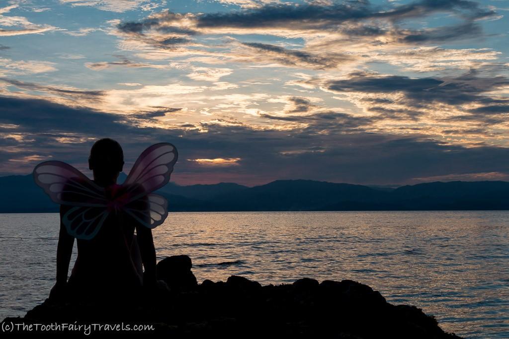 sunset at white beach - Moalboal
