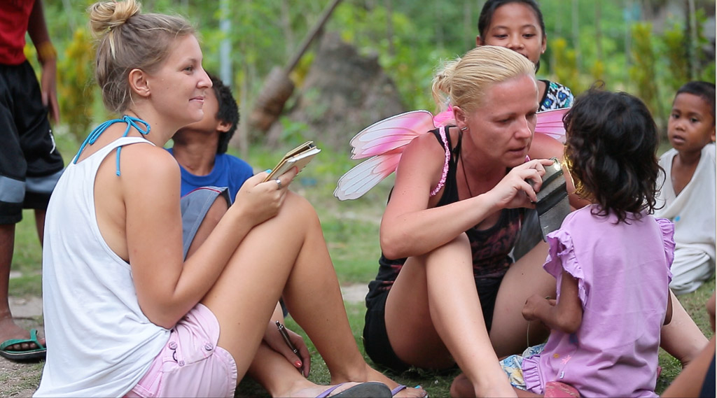 The Tooth Fairy At A Thousand Smiles Orphanage