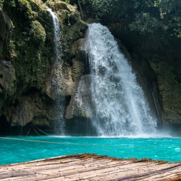Khawasan Falls near Moalboal