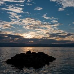 sunset Moalboal - white beach