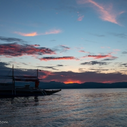 sunset Moalboal