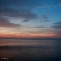Sunset - long exposure - Nusa Lembongan